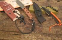 coltelli con acciarino incorporato nel fodero