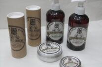 MR BEAR FAMILY shampo- olio-balsamo- cera per barba e baffi