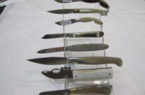 coltelli con manico in osso
