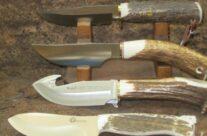 coltelli caccia manico in corno di cervo
